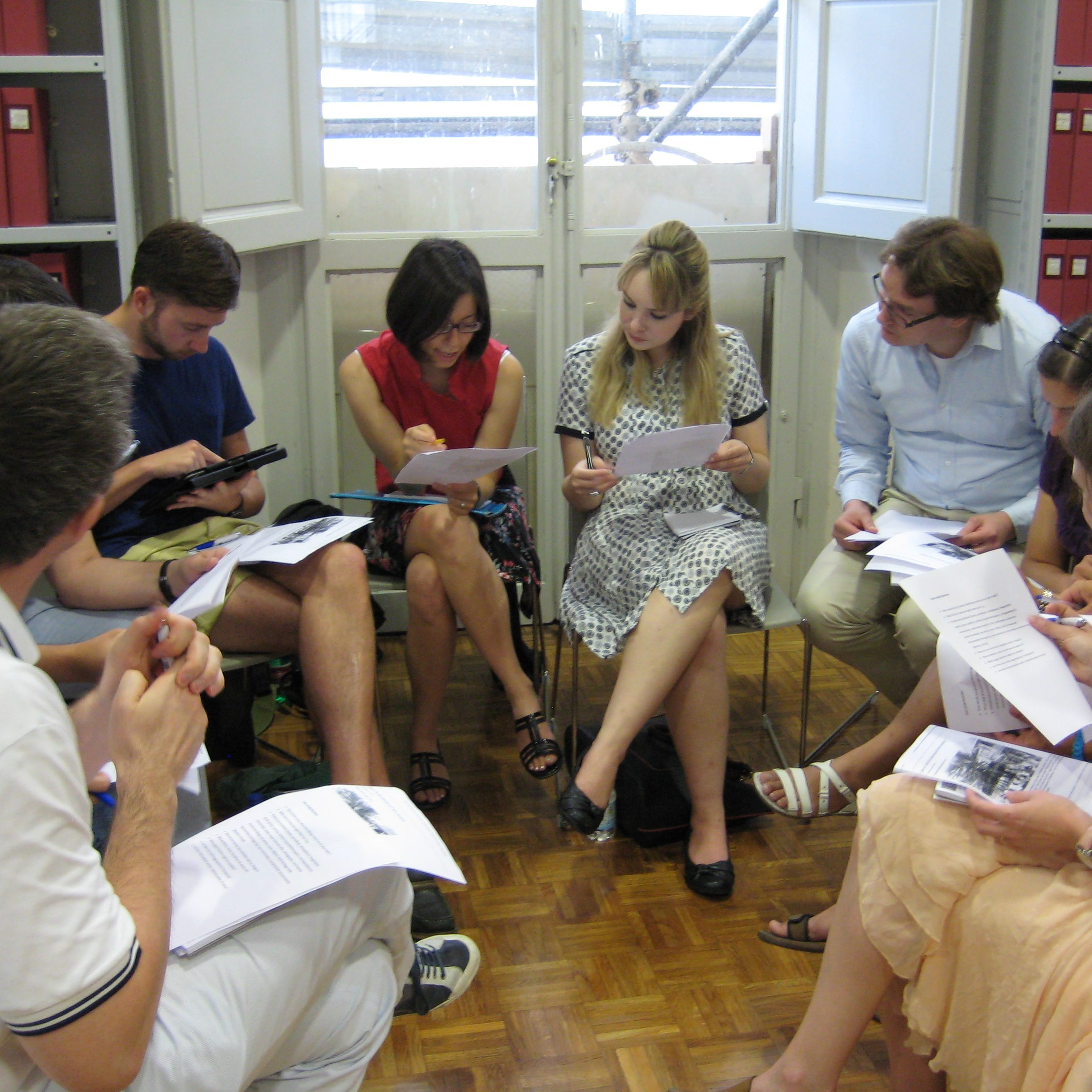 group-work-at-summer-school