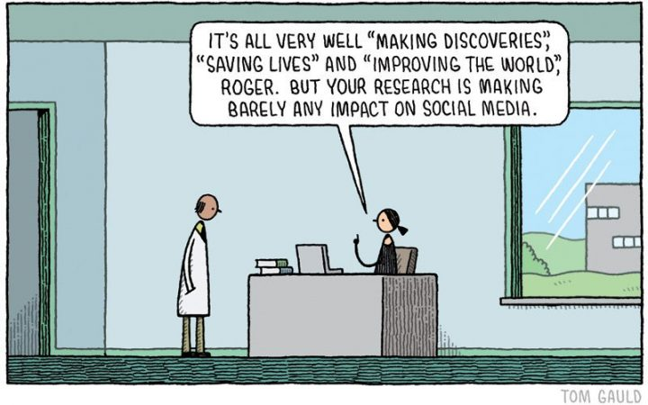 We have still got to ask for licence. Tom Gauld 2016: A recent cartoon for @newscientist