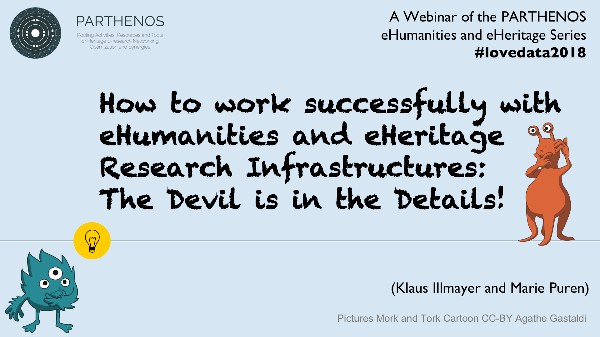 Webinar Parthenos - Puren and Illmayer