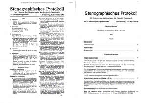 Proceedings of the Austrian parliament in PDF.